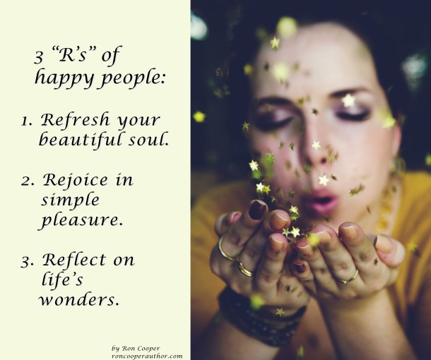 3 R's of happy people