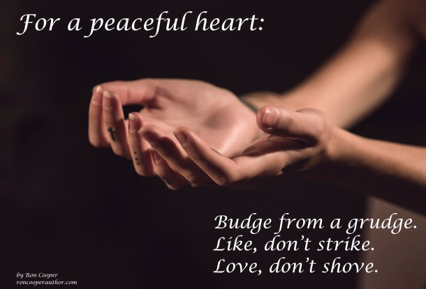 For a peaceful heart