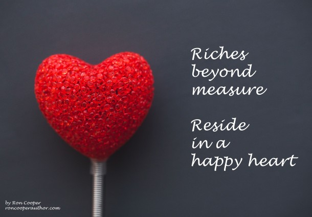 Riches beyond measure