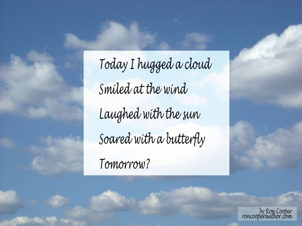 Today I hugged a cloud