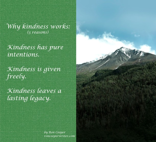 Why kindness works