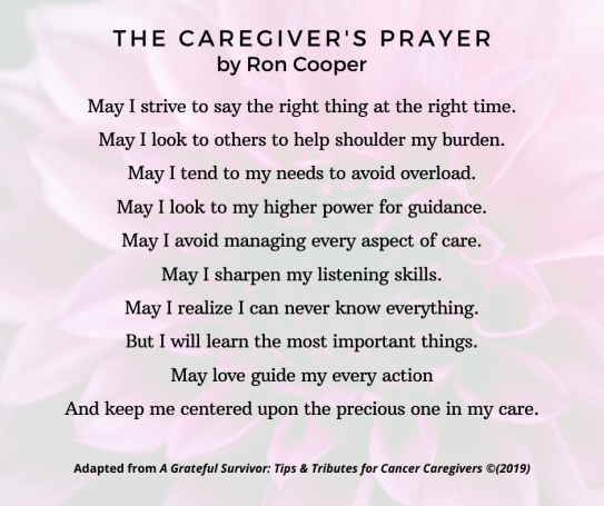 The Caregiver's Prayer, v2