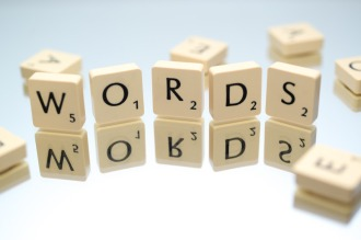 Canva - Words Text Scrabble Blocks